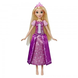 Disney Princess Shimmering Song Rapunzel, Singing Doll - Sale