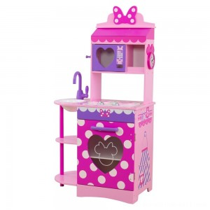 KidKraft Disney Jr. Minnie Mouse Toddler Kitchen - Sale