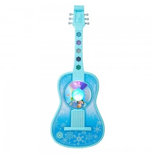 Disney Frozen Magic Touch Guitar with Lights and Sounds - Sale
