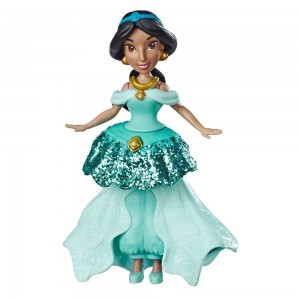 Disney Princess Jasmine Doll with Royal Clips Fashion, One-Clip Skirt - Sale