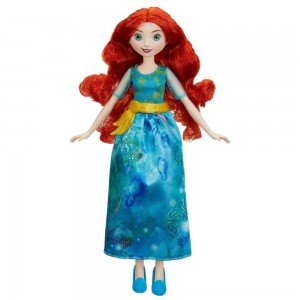 Disney Princess Royal Shimmer - Merida Doll - Sale