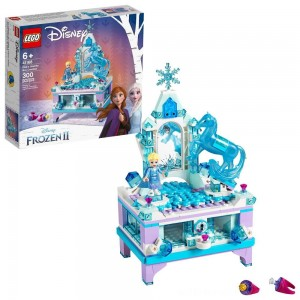 LEGO Disney Princess Frozen 2 Elsa's Jewelry Box Creation 41168 Disney Jewelry Box Building Kit 300pc - Sale