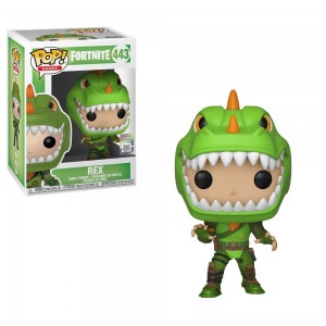 Funko POP! Games: Fortnite - Rex - Sale