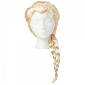 Disney Frozen 2 Elsa Wig, Yellow - Sale