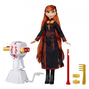 Disney Frozen 2 Sister Styles Anna Fashion Doll With Extra-Long Red Hair, Braiding Tool and Hair Clips - Sale