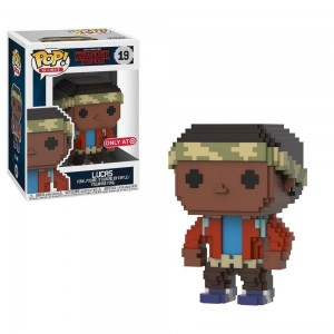 Funko 8-Bit POP: Stranger Things S3 - Lucas - Sale