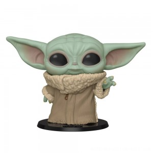 "Funko POP! Star Wars - 10"" The Child (Baby Yoda) - Sale"