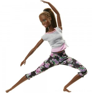 Barbie Made To Move Yoga Nikki Doll - Sale