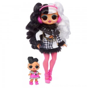 L.O.L. Surprise! O.M.G. Winter Disco Dollie Fashion Doll & Sister - Sale