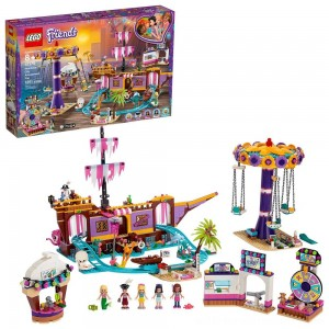 LEGO Friends Heartlake City Amusement Park with Toy Rollercoaster Building Set with Mini Dolls 41375 - Sale