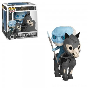 Funko POP! Rides: Game of Thrones - White Walker on Horse - Sale