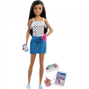 Barbie Skipper Babysitters Inc. Black Hair Doll Playset - Sale