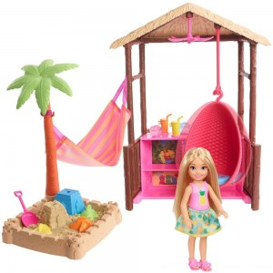Barbie Chelsea Tiki Hut Playset - Sale