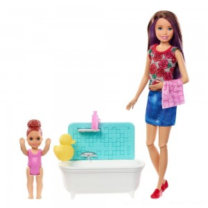 Barbie Skipper Babysitters Inc. Doll & Playset - Blond - Sale