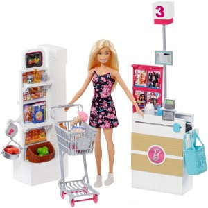Barbie Supermarket Playset - Sale