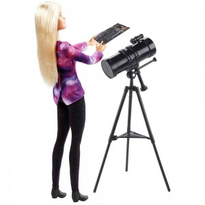 Barbie National Geographic Astronomer Playset - Sale