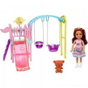 Barbie Club Chelsea Swingset Playset - Sale
