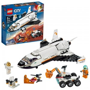 LEGO City Space Mars Research Shuttle 60226 Space Shuttle Toy Building Kit with Mars Rover - Sale