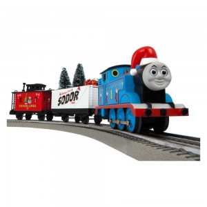 Lionel Thomas & Friends Christmas Freight LionChief Train Set with Bluetooth - Sale