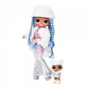 L.O.L. Surprise! O.M.G. Winter Disco Snowlicious Fashion Doll & Sister - Sale