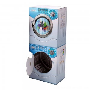 Melissa & Doug Washer/Dryer Combo Cardboard Play Set - Sale