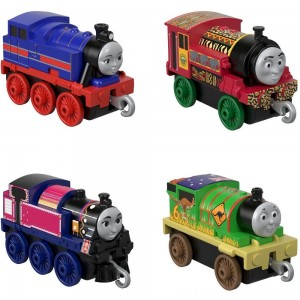 Fisher-Price Thomas & Friends Around the World Push Along 4pk - Sale