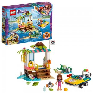 LEGO Friends Turtles Rescue Mission 41376 Building Kit Includes Toy Vehicle and Clinic 225pc - Sale