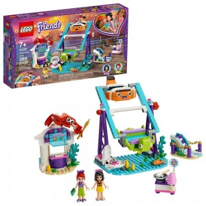LEGO Friends Underwater Loop 41337 Amusement Park Building Kit with Mini Dolls for Group Play 389pc - Sale
