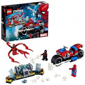 LEGO Super Heroes Marvel Spider-Man Bike Rescue 76113 - Sale