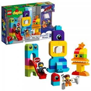 THE LEGO MOVIE 2 Emmet and Lucy's Visitors from the DUPLO 10895 - Sale