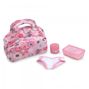 Melissa & Doug Mine to Love Doll Diaper Changing Set With Bag, Wipes, Accessories (7pc) - Sale