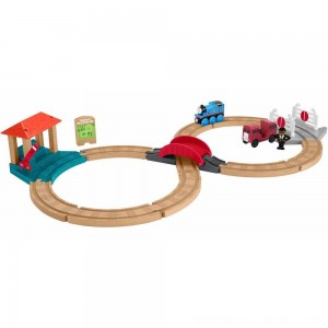 Fisher-Price Thomas & Friends Wood Racing Figure-8 Set - Sale