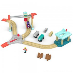 Fisher-Price Thomas & Friends Wood Lift & Load Cargo Set - Sale
