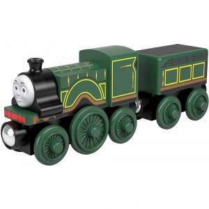 Fisher-Price Thomas & Friends Wood Emily Engine - Sale