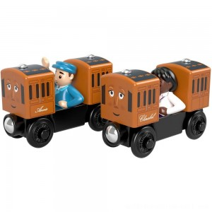 Fisher-Price Thomas & Friends Wood Annie & Clarabel - Sale