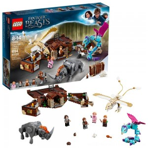 LEGO Harry Potter Fantastic Beasts Newt's Case of Magical Creatures 75952 - Sale