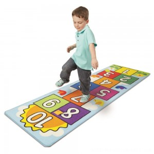 Melissa & Doug Hop & Ct Hopscotch Rug, Kids Unisex - Sale