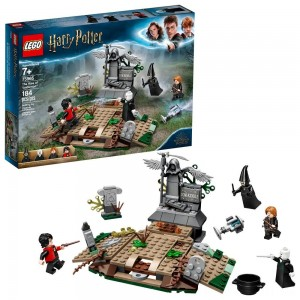 LEGO Harry Potter The Rise of Voldemort 75965 Wizard Minifigure Battle Action Building Set 184pc - Sale