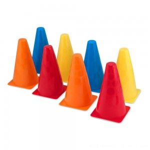Melissa & Doug 8 Activity Cones - Set of 8 - Sale