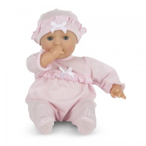 "Melissa & Doug Mine to Love Jenna 12"" Soft Body Baby Doll - Sale"