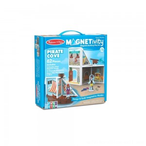 Melissa & Doug Magnetivity - Pirate Cove - Sale