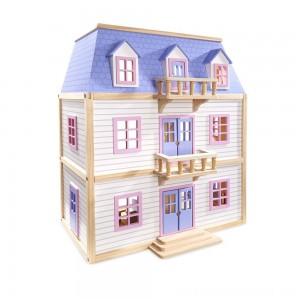 Melissa & Doug Multi-Level Dollhouse - Sale