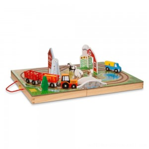 Melissa & Doug Take Along Farm Set - Sale