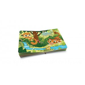 LeapReader™ Junior Book: Animals Around the World Ages 1-3 yrs.