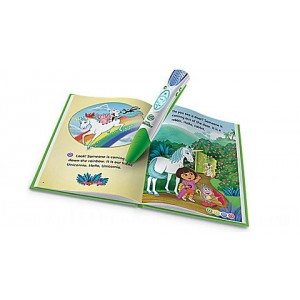 LeapReader™ Book: Dora the Explorer: Tale of the Unicorn King Ages 4-6 yrs.