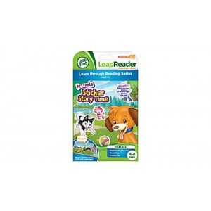 LeapReader™ Book: Pet Pals Sticker Story Time Ages 4-8 yrs.