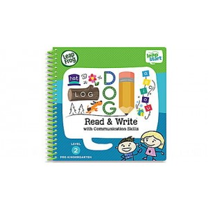 LeapStart® Read & Write with Communication Skills 30+ Page Activity Book Ages 3-5 yrs.