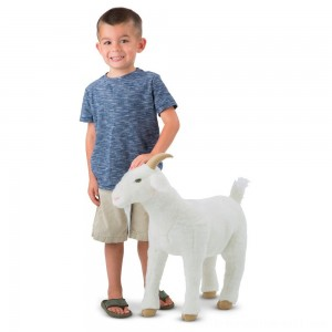 Melissa & Doug Goat Plush Toy - Sale