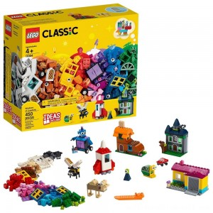LEGO Classic Windows of Creativity 11004 Building Kit with Toy Doors for Creative Play 450pc - Sale