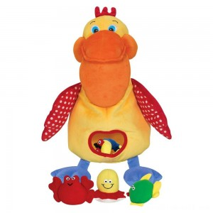 Melissa & Doug K's Kids Hungry Pelican Soft Baby Educational Toy - Sale